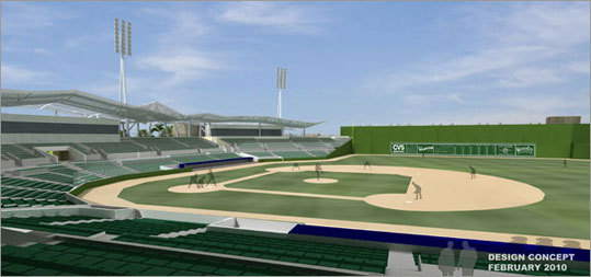 Focus on Fort Myers Transition to a new spring home in Fort Myers. Huge move for the Red Sox and for a first-year GM. All of the logistics with minor league players and staff have to be worked out, on top of everything else he has to worry about.