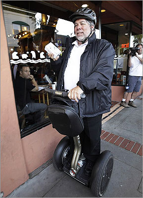 Los Gatos, Calif. Wozniak waited 20 hours in line to be the first Apple customer at a Los Gatos Apple store.