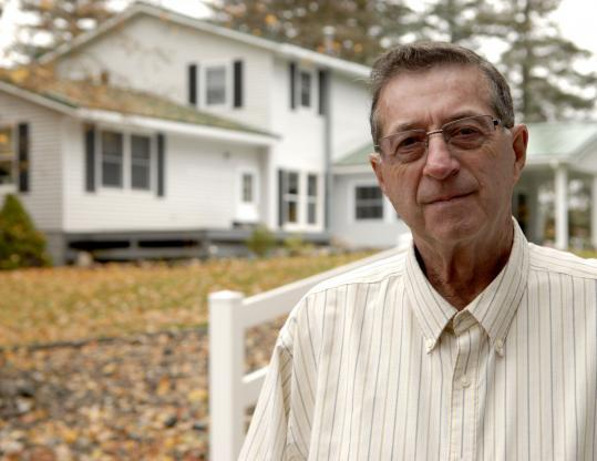 Gerry Selbee, pictured, said the regional lottery director in Western Massachusetts personally thanked him for propping up flat sales. His gambling group has spent millions of dollars on the Cash WinFall game.