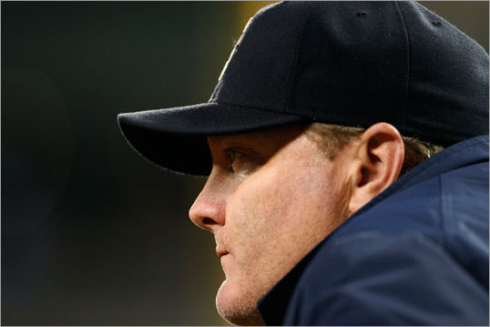 Eric Wedge The current Mariners manager is a former Red Sox catcher, so there's a Boston connection. He's tough with players but young enough to relate to them. Any move to acquire Wedge would likely require some form of compensation to the Mariners since he is under contract.
