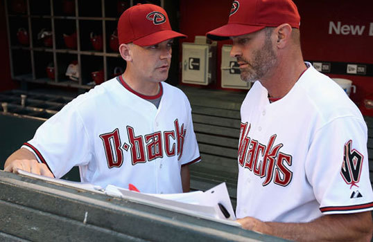 A.J. Hinch Hinch (left) has worked both in player development and as an on-field manager for the Arizona Diamondbacks, though Red Sox fans would surely question hiring a manager who was fired following a 31-48 start to the 2010 season.