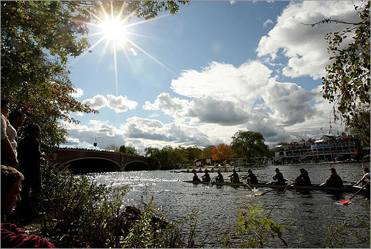 The 47th edition of the Head of the Charles Regatta welcomed 8,000 rowers from around the world to the annual Charles River event. Here is a look at the race.