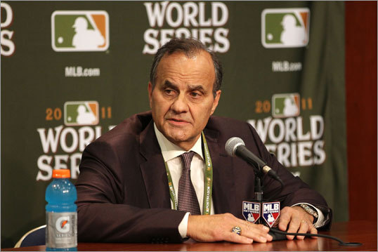 Joe Torre Major League Baseball executive vice president of baseball operations Joe Torre said on Oct. 23 that his office would investigate the drinking that was going on during games in the Red Sox clubhouse this season. 'It's something we're concerned about, just to make sure that we get all the facts and that's my area,' Torre said. 'I know I have plans just to talk to some people.'