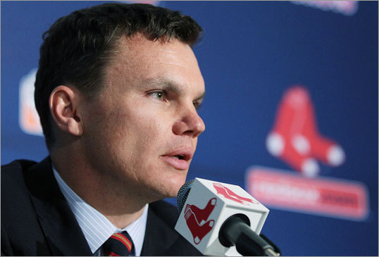 Cherington said the Red Sox need to move on from a disappointing season. 'There will be changes,' said Cherington. 'There will be small things we do differently, but we're going to continue to build on the culture that Theo helped create with the Red Sox.'