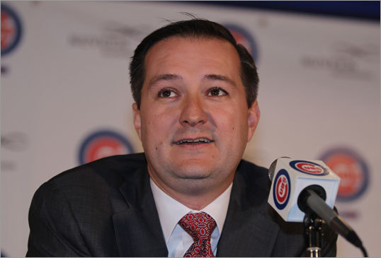 Said Ricketts, 'As the team chairman, I'm extremely pleased with the results of our search. As a fan, I'm truly excited for the future of this team. But now, it's time to go to work.''