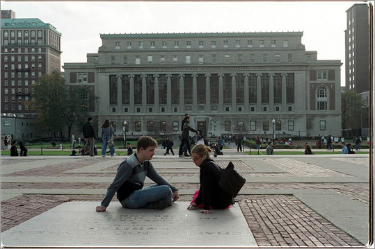 8. Columbia University Total cost per year: $59,208 Average debt at graduation: N/A Four-year graduation rate: 88 percent