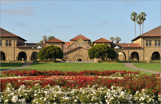 10. Stanford University Total cost per year: $54,798 Average debt at graduation: $14,058 Four-year graduation rate: 78 percent