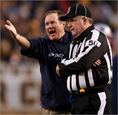 5. Belichick the GM There will always be questions about the individual decisions coaches make from game to game, such as Bill Belichick's decision to go for an onsides kick late in Sunday's game. While hindsight is 20-20 in those scenarios, it might be more beneficial to question the larger picture. Over the last few seasons in particular, Belichick's strategy of trading down in the draft to select bigger risks on defense hasn't panned out. Neither have many of the team's defensive free agents (Deltha O'Neal anyone?) Recently, critics have questioned his reluctance to bring in more high-profile coaching help, such as a big-name defensive coordinator.