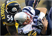 Patriots-Steelers game photos