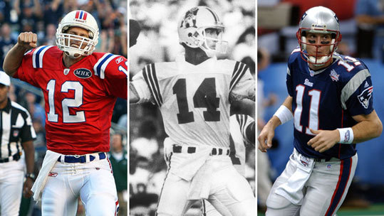 For the rest of the NFL season, we're reviewing Patriots fans' favorite players, position-by-position, and letting them vote. Our Most Beloved Patriots series continues with some of the most memorable quarterbacks to play in New England. At the end of the season, we'll compile an All-Beloved team and cap it off with voting for your favorite Patriots player of them all.