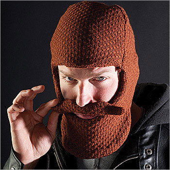 Brown Beard Hat Price: $29.98 Growing a beard can be next to impossible for some folks. Help 'em out.