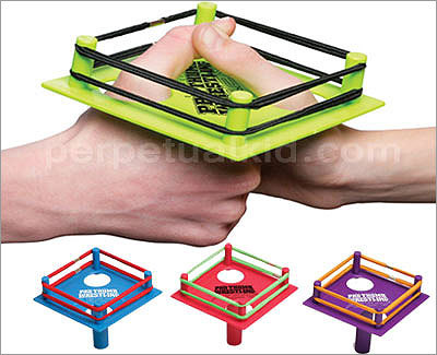 Pro Thumb Wrestling Price: $6.99 If you're going to thumb wrestle, you need to do it in style. This gift will make sure the recipient can settle any thumb scores.