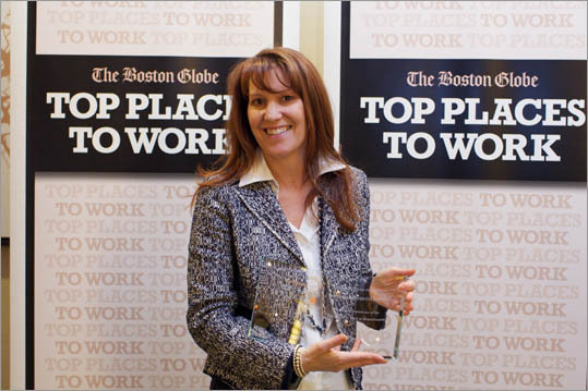 Pictured: Jill Anderson of Integrated Financial Partners, ranked No. 40 for small employers.