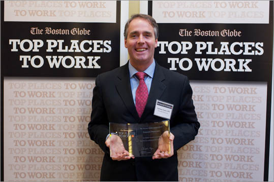 Pictured: Cormac Coyle of Emerald Physicians, ranked No. 3 for small employers.