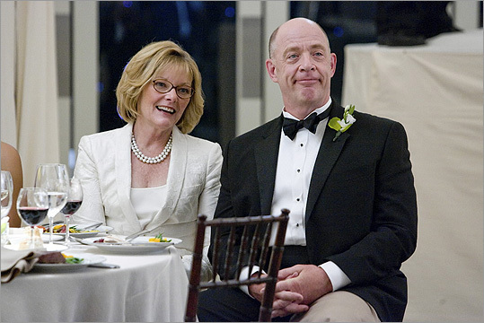 "Jane Curtin Her brother Lawrence said the family grew up there. Jane isn't specific about her origins in interviews, though she admits 'I grew up in Massachusetts and I can make a mean lobster roll.' Pictured: Jane Curtin and J.K. Simmons playing the parents of the groom in the comedy ""I Love You, Man."""