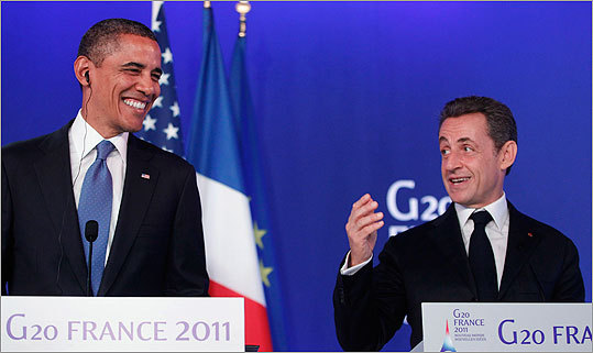 At the Group of 20 summit in southern France in November 2011, French President Nicolas Sarkozy and President Obama were each reportedly caught in 'open-mike' moments... making comments about Israeli Prime Minister Benjamin Netanyahu that were only meant for each others' ears. Read more