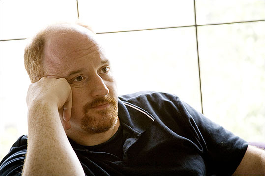 "Louis C.K. The comedian's parents met at Harvard and though Louis Szekely (his real name-- 'C.K.' is the approximate pronunciation) spent several years growing up in Mexico, he eventually moved to Newton when he was 7. He became a car mechanic after graduating from Newton North. In 1984, he tried comedy at a Boston comedy club but could only come up with 2 minutes of material for a 5 minute set. It took another two years before he tried again and became part of the growing Boston stand-up comedy scene. ""The stand-up scene here was as legitimate an artistic movement as the salons in Paris,'' he said."