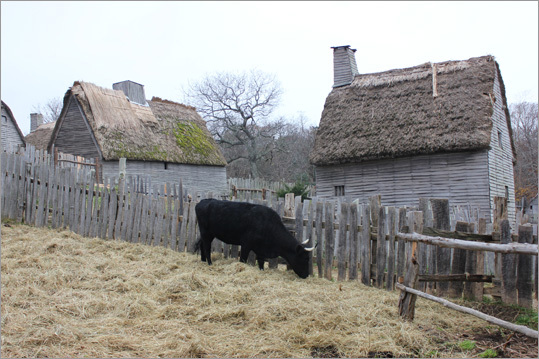 A short walk away is the 1627 English Village, where visitors can meet role players displaying the ways of life of the early colonists in the years following the Mayflower's arrival.
