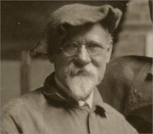 Born in Springville, Utah, on Nov. 22, 1861, Dallin moved to Boston about 20 years later to study with sculptor Truman Bartlett and finally settled in Arlington with his wife, Vittoria Colonna Murray, in 1900. A photograph of Dallin.