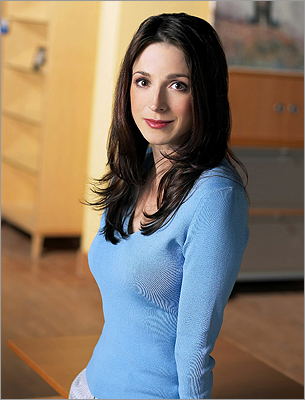 Marin Hinkle She's on the popular and recently controversial show 'Two and a Half Men' as Jon Cryer's ex-wife. Before that, she grew up in Newton. She performed theater at Newton South High School.