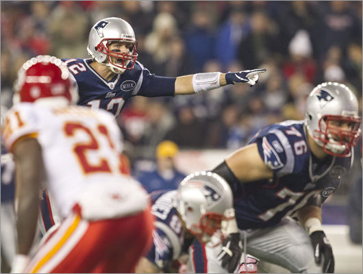 Tom Brady and the Patriots made their second appearance on Monday Night Football. After overcoming a slow start and falling behind 3-0, the Patriots took control of the game and dominated the second half, winning 34-3 and improving to 7-3.