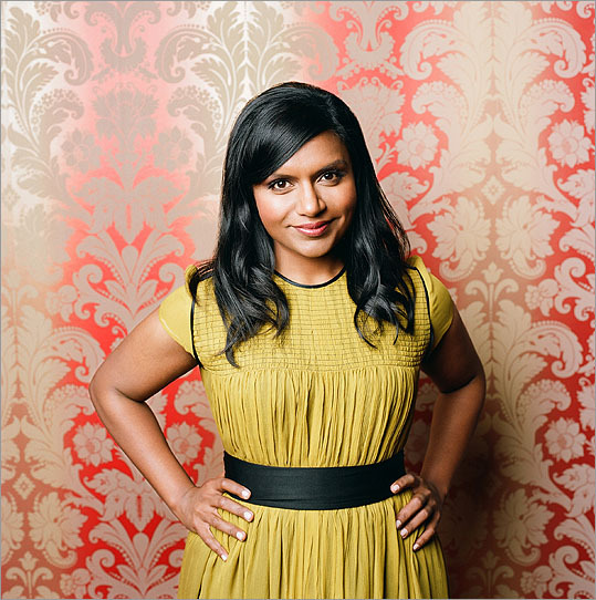 Mindy Kaling The actress, writer, and director grew up in Cambridge, where her mom was a medical resident and her father drove hours to New Haven every day where he was an architect. She graduated from the local Buckingham Browne & Nichols. She moved to New York and got her first break after writing and starring in a play about two other famous Cambridge residents-- 'Matt & Ben.' A producer recruited her to write and star in NBC's remake of 'The Office.'