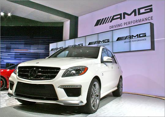 2012 Mercedes-Benz ML63 AMG