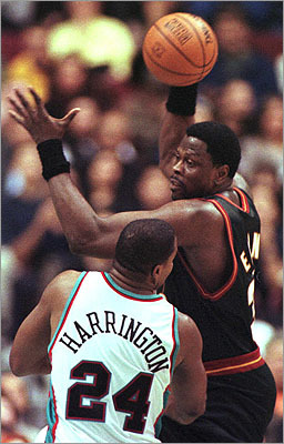Patrick Ewing The basketball star moved from Jamaica to Cambridge when he was 13. There, his friends introduced him to the sport at Hoyt Field. 'The first time I tried to play, I was terrible,' Ewing said. 'But I liked it.' 'Cambridge was a melting pot,' he recalled. 'There were Jamaicans, Trinidadians, Barbadians, Haitians, Greeks, Italians, Portuguese. We had a great community, a great tradition at Rindge Tech.'