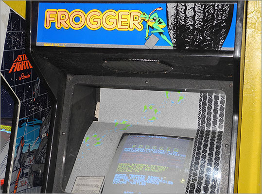 'Seinfeld' fans will be happy to know there's also a Frogger machine. Read the Boston.com article.