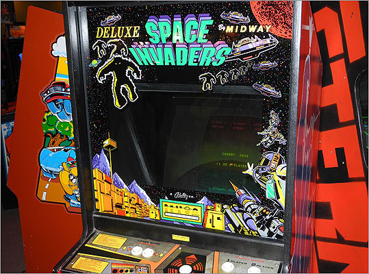 One of the most famous arcade games of all time, Space Invaders, also debuted in the '70s. Read the Boston.com article.