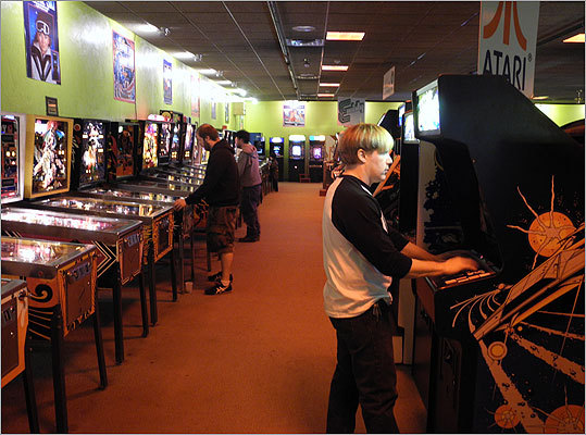 Pinball fans aren't forgotten at ACAM. Read the Boston.com article.