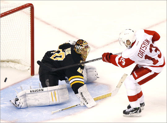Pavel Datsyuk scored one of two shootout goals for the Red Wings.