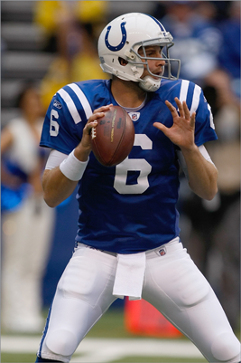 1. Dan Orlovsky vs. Patriots defensive backs The notion that Peyton Manning deserves a nod of MVP consideration because the Colts have collapsed without him is a ridiculous one, but his injury and season-long absence has confirmed that he is the most irreplaceable player to his particular team in the entire NFL. Backup Curtis Painter flopped in nine starts (66.6 quarterback rating), and he was Benched in favor of former UConn quarterback Orlovsky this week. The last significant action he's seen in the NFL came in seven starts for the 2008 Detroit Lions, who went 0-16.