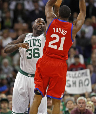 Thaddeus Young, SF Young is the kind of young, athletic forward the Celtics desperately need. At 6-feet-8-inches he's long enough to cause problems on defense, and he's come into his own as a scorer, averaging 12.5 points in his four-year career. The Sixers are stacked at his position with Andre Iguodala and Evan Turner, so they may let him walk, though it's unlikely he'd come to Boston cheaply.