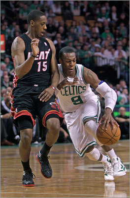 1. Rajon Rondo will be playing elsewhere Danny Ainge said Thursday that he didn't anticipate trading Rondo, but what else is he going to say? It's clear by several leaks to the media that Rondo is being shopped around, and it makes sense. He's the one trade chip Ainge has that will bring any kind of value in return, and the Celtics as currently constituted don't stand a better shot than they did when they lost to the Heat in May. Chris Paul may not be available, but Deron Williams or another star could be. Rondo will be moved. It's only a matter of time.