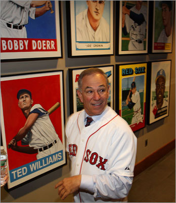 The process of finding a new manager took the Red Sox two months. 'In the end, I'm very confident that we did find the right person in Bobby Valentine,'' said GM Ben Cherington. 'When I started this process, I said that we were looking for someone who cared about players, who had a strong voice, who was willing to have difficult conversations with players, who could collaborate with the front office and ownership, who could make strong arguments at the right time, someone who was open-minded, and someone who wants to win.'