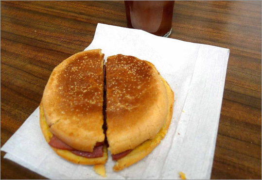 Wilensky's Light Lunch - Established in 1932 when Mile End was a neighborhood of Eastern European Jewish immigrants, this nine-stool lunch counter persists as much for its nostalgic appeal as its culinary expertise. The de rigeur order is The Special - a sandwich with a slice of beef salami, a slice of beef bologna, and yellow mustard on a white roll. The only options are the addition of a slice of Swiss or cheddar cheese and a sour or half-sour pickle. It's so cheap that you can wash it down with a vanilla or chocolate egg cream (no egg, no cream) and still get change from a $10 bill. 35 avenue Fairmount ouest, 514-271-0247, closed Sunday, The Special $4.28, egg cream $1.68