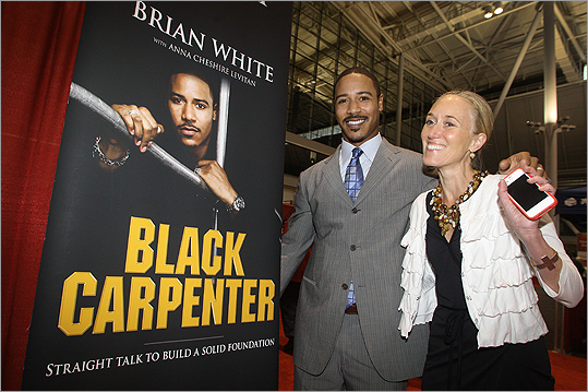 Brian White The actor in 'Stomp the Yard,' 'Men of a Certain Age,' and 'The Shield' grew up in Newton and attended Newton South. His father was JoJo White, who played for the Boston Celtics. Brian White also dabbled in athletics before becoming an actor-- he played for the New England Patriots and Boston Blazers. Most recently he has become a published author with his book 'Black Carpenter.'