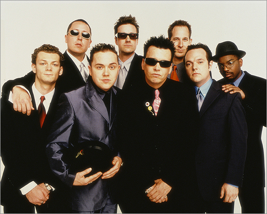 Mighty Mighty Bosstones The band members met each other at Cambridge Pilot School and were at the forefront of the Ska music wave. They released an album 'Live from the Middle East' in October 1998 after recording at the Central Square venue.