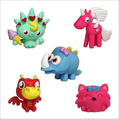 Moshi Monsters Price: Starting at $1.99 for a single figure The monsters are adoptable pets that you can customize and play with in a virtual world. Real-life accessories include the pets, video games, card games and plush toys.