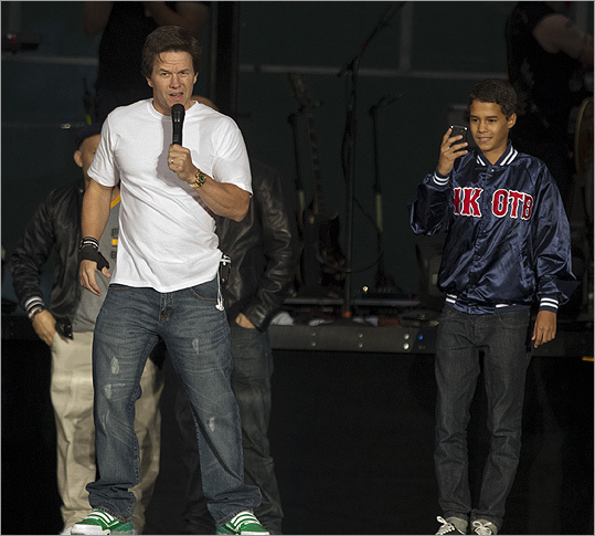 """Mark Wahlberg The former bad-boy rapper known as Marky-Mark who did jail time for an assault at age 16 is now a movie and TV production powerhouse. In addition to """"Entourage,'' he and production partner Stephen Levinson executive produce """"How to Make It in America,'' """"Boardwalk Empire,'' and """"In Treatment.' """"When I met him he was a 26-year-old mumbling kid from Dorchester who was coming right off of 'Boogie Nights' and he was slouching down on the couch,'' said director David O. Russell, who also worked with Wahlberg on """"Three Kings'' and """"I Heart Huckabees.'' """"Now I call him Godfather because he's literally got a boardwalk empire and a television empire.'"""