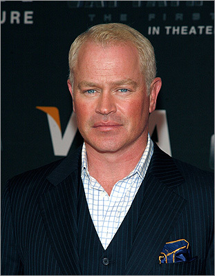 Neal McDonough The actor was born in Dorchester and grew up in the area, attending Barnstable High School. One of his first acting jobs was as Snoopy in a senior-class production of 'You're a Good Man, Charlie Brown.' Pictured: Neal McDonough attends the Visa Signature screening of 'Captain America: The First Avenger' at the AMC Loews Lincoln Square on July 20, 2011, in New York City.