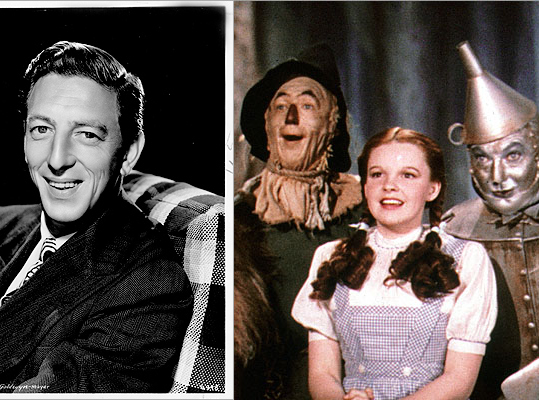Ray Bolger The actor who played Scarecrow in the film 'The Wizard of Oz' grew up in Dorchester and attended Dorchester High School. He was originally approached by MGM and offered the role of the Tin Man. 'It's not my cup of tea,' Bolger responded. 'I'm not a tin performer. I'm fluid.'