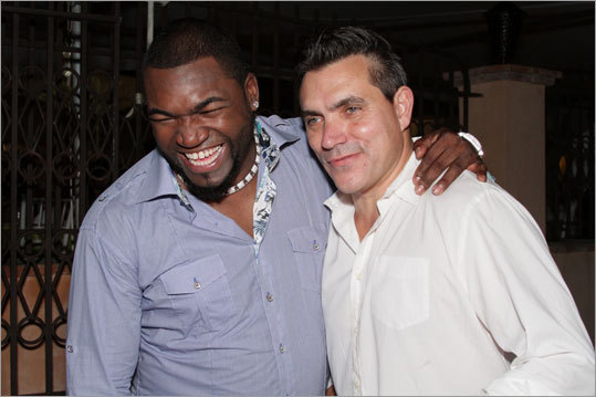Ortiz and chef Todd English.