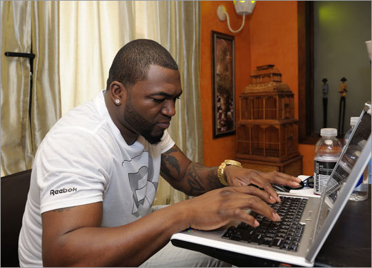 Ortiz took time to greet his fans in a chat session on Boston.com. Review the conversation here.