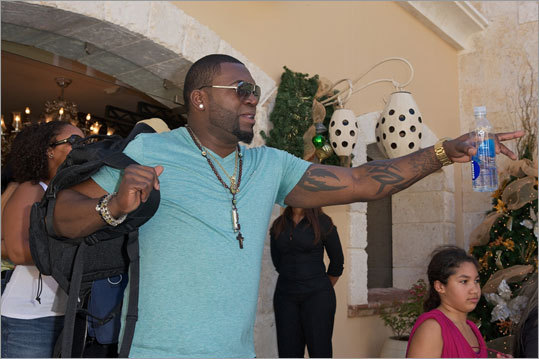 Ortiz arrived at the Fishing Lodge Cap Cana for the beginning of the weekend long event.