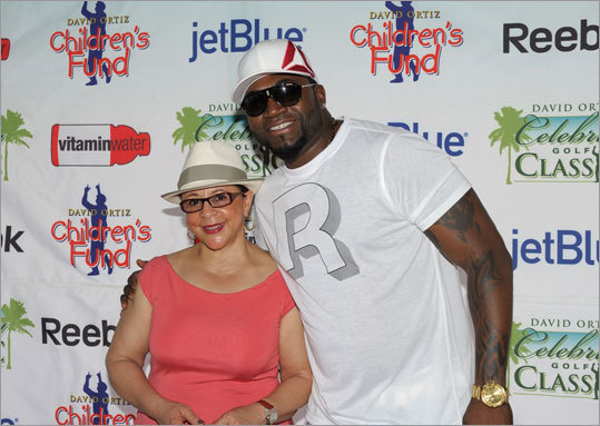Sheila Johnson, CEO and Founder, Salamander Hotel and resorts and Ortiz at media day