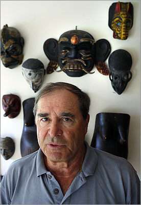 Paul Theroux The novelist and travel writer writes about his hometown often, like in 'Traveling Home: High School Reunion' and 'My Secret History.' However, in Michael Bloomberg's autobiography, Theroux did not have kind things to say about Medford. 'I thought it would be death to stay there, that I would just be swallowed up. It was all right to grow up there, but to stay there? Fatal.''