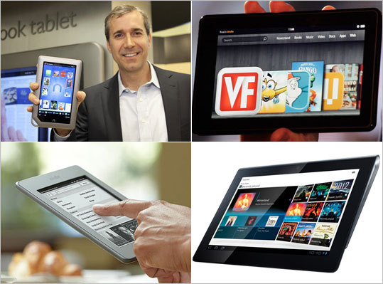 Tablet computers are extremely popular, and electronic reading devices such as the Kindle have matured and come down in price. But with all the options out there, which tablet should you get for gifts this season? That's mostly a matter of your budget. The iPad and other full-blown tablets are more expensive, but they do virtually everything better. Here's a look at some of the options on the market from $99 to about $600. Prices are subject to change.