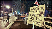 Occupy Boston remains